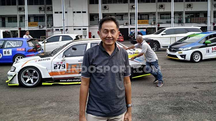 Fahmi, saat ditemui INDOSPORT di Monas. Copyright: Arief Tirtana/INDOSPORT