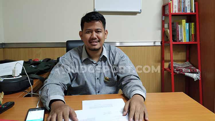 Irawan Sucahyono, desainer sirkuit non-permanen dan penasehat Sirkuit Sentul. Copyright: Arief Tirtana/INDOSPORT