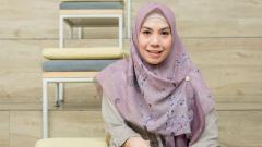 Indosport - Mantan pebulutangkis tunggal putri Indonesia, Adriyanti Firdasari.