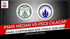 Indosport - Prediksi PSMS Medan vs PSCS Cilacap di Liga 2 2019.