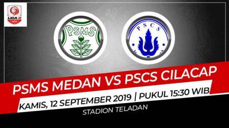 Prediksi PSMS Medan vs PSCS Cilacap di Liga 2 2019. - INDOSPORT