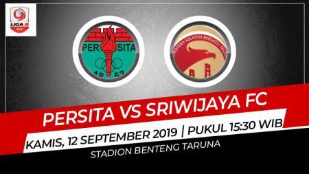 Persita Tangerang sukses meraih kemenangan tipis 1-0 atas Sriwijaya FC di Liga 2 2019 Wilayah Barat. - INDOSPORT