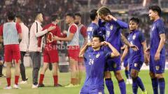 Indosport - Laga Timnas Indonesia vs Thailand di Kualifikasi Piala Dunia 2022 sep penonton