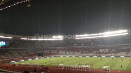 PSSI belum menentukan stadion untuk babak kualifikasi Piala Asia U-23 2021. - INDOSPORT