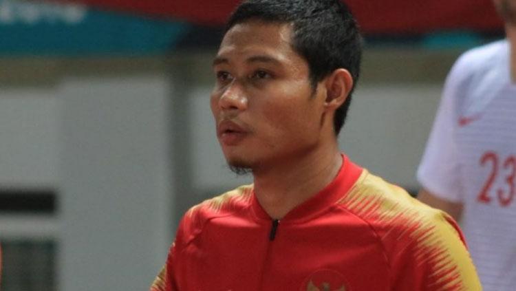 Evan Dimas saat berseragam Timnas Indonesia. Copyright: Instagram.com/evandimas