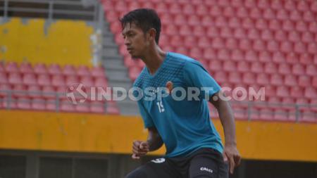 Bintang Sriwijaya FC, Yongki Aribowo optimis bisa kalahkan Persita Tangerang - INDOSPORT