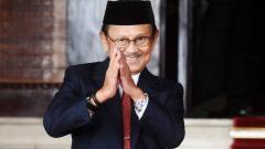 Indosport - Presiden Republik Indonesia ke-3, Bacharuddin Jusuf Habibie.