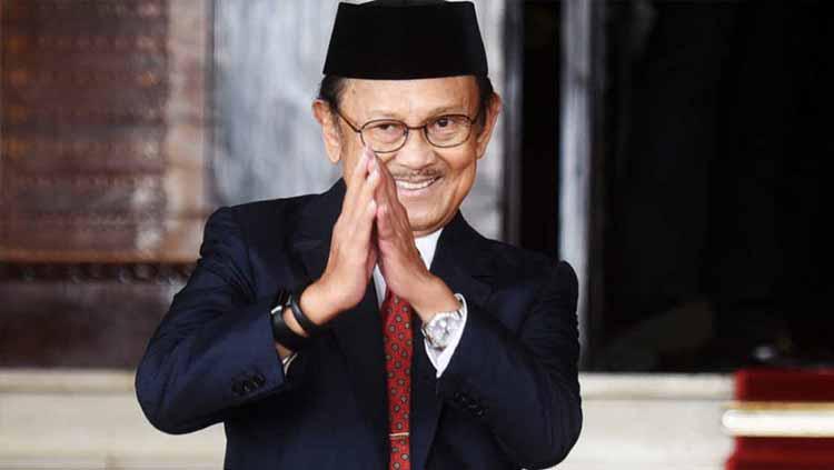 Presiden Republik Indonesia ke-3, Bacharuddin Jusuf Habibie. Copyright: breakingnews