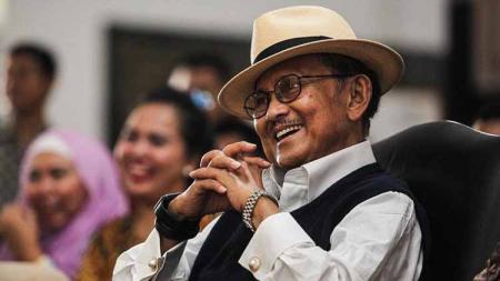 Presiden Republik Indonesia ke-3, Bacharuddin Jusuf Habibie. - INDOSPORT