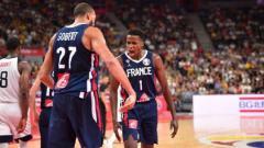 Indosport - Amerika Serikat kalah dari Prancis dan tersingkir di FIBA World Cup 2019
