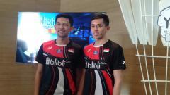 Indosport - Fajar Alfian/M. Rian Ardianto, pasangan ganda putra Indonesia dapat
