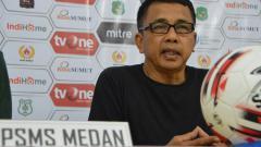 Indosport - Jafri Sastra akan menjalani laga perdananya alias debut sebagai juru taktik PSMS Medan dengan mengahadapi PSCS Cilacap dalam lanjutan pekan ke-16 Liga 2 2019.