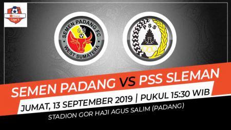 Pertandingan Semen Padang vs PSS Sleman. - INDOSPORT