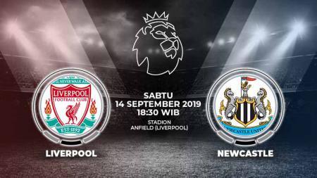 Prediksi pertandingan pekan kelima kompetisi sepak bola Liga Inggris 2019/20 antara Liverpool menghadapi Newcastle United yang akan digelar di Stadion Anfield, Sabtu (14/09/19). - INDOSPORT