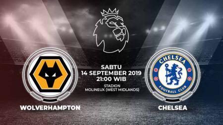 Pertandingan Wolverhampton vs Chelsea. - INDOSPORT