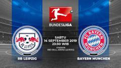 Indosport - Pertandingan RB Leipzig vs Bayern Munchen.