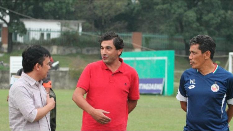 Eduardo Almeida, Pelatih baru Semen Padang Copyright: semenpadangfc.co.id