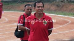 Indosport - Mantan kiper Bali United, I Made Kadek Wardana. Foto: Nofik Lukman Hakim