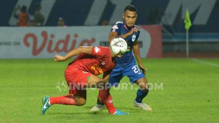 Bek PSIS Semarang, Safrudin Tahar jadi salah satu pemain incaran PSS Sleman di jendela transfer tengah musim Liga 1. - INDOSPORT