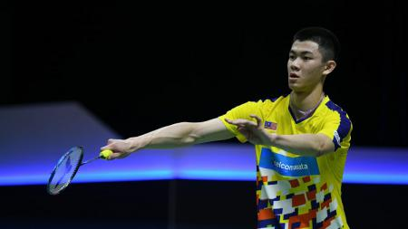 Lee Zii Jia, pebulutangkis tunggal putra Malaysia. - INDOSPORT