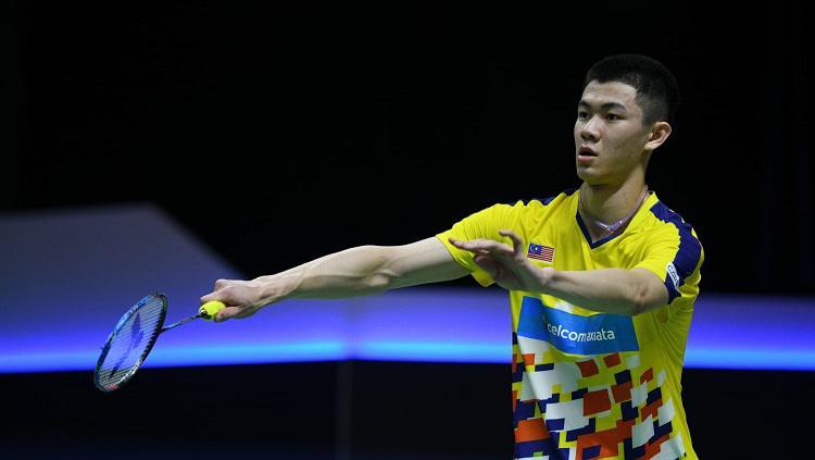 Lee Zii Jia, pebulutangkis tunggal putra Malaysia. Copyright: www.olympicchannel.com
