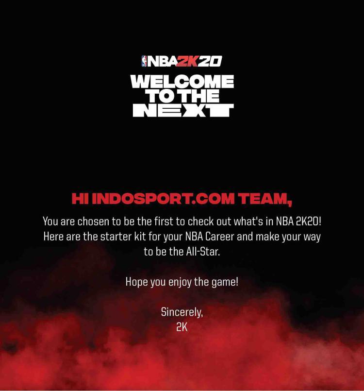 Indosport berkesempatan mencoba game NBA 2K20 Copyright: realsport101.com