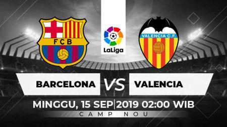 Prediksi Barcelona vs Valencia Laliga Spanyol. - INDOSPORT