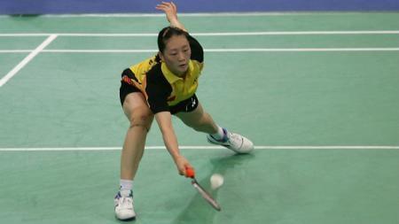 Siapa sangka kalau mantan juara China Open 2002, yakni Gong Ruina pernah jatuh hati dengan salah satu legenda ganda putra Indonesia? - INDOSPORT