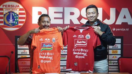 Sponsor baru Persija Jakarta. - INDOSPORT