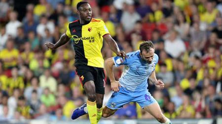 Usai ditutupnya bursa transfer musim panas, Watford mendepak mantan penyerang Manchester United dan Arsenal, Danny Welbeck, secara cuma-cuma. - INDOSPORT