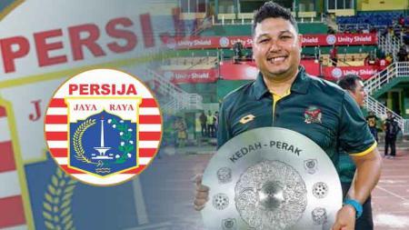 Aidil Sharin kandidat pelatih Persija Jakarta. - INDOSPORT
