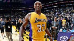 Indosport - Pemain basket dari Los Angeles Lakers, Metta World Peace.