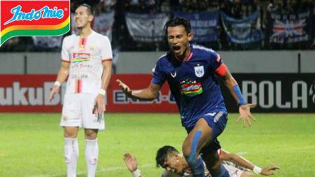Hari Nur Yulianto saat membawa kemenangan PSIS Semarang atas Persija Jakarta - INDOSPORT