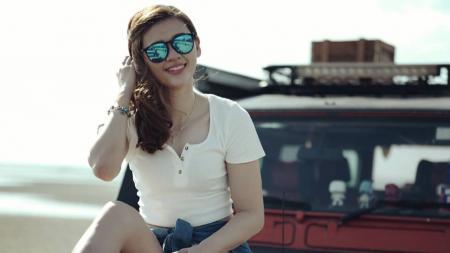 Janice Woon Khe Wei, pebulutangkis cantik asal Malaysia. - INDOSPORT