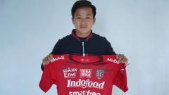 Indosport - Rian Fimansyah, Pemain baru Bali United di paruh kedua Shopee Liga 1 2019.