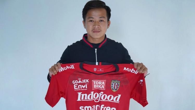 Rian Fimansyah, Pemain baru Bali United di paruh kedua Copyright: baliutd.com