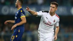 Indosport - Krzysztof Piatek mencetak gol pada laga Hellas Verona vs AC Milan pada giornata ke-3 Serie A Italia 2019/20, Senin (16/09/19) dini hari WIB, di Stadio Marc'Antonio Bentegodi.