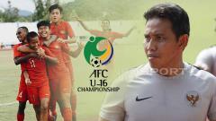Indosport - Bima Sakti persiapan laga Timnas U-16