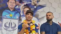 Indosport - Bruno Silva bergabung ke PSIS Semarang.