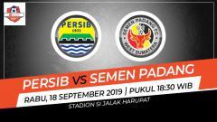 Indosport - Prediksi Persib Bandung vs Semen Padang di Liga 1 2019.