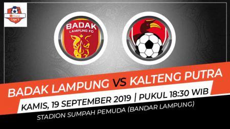 Berikut prediksi pertandingan Perseru Badak Lampung vs Kalteng Putra di Stadion Sumpah Pemuda, Bandar Lampung - INDOSPORT