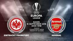 Indosport - Berikut link live streaming pertandingan Liga Europa 2019/20 antara Eintracht Frankfurt vs Arsenal yang berlangsung pada Kamis (19/9/19) pukul 23.55 WIB.