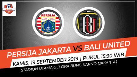 Pertandingan Persija Jakarta vs Bali United di pekan ke-19 Liga 1 2019 yang akan dimainkan hari Kamis (19/09/19) pukul 15.30 WIB sore. - INDOSPORT