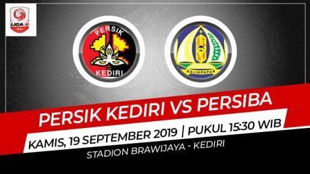 Pertandingan Persik Kediri vs Persiba Balikpapan. - INDOSPORT