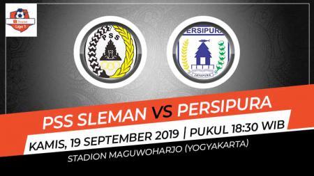 Liga 1 2019 pekan ke-19 akan kembali dimainkan dengan salah satunya pertandingan sengit antara PSS Sleman vs Persipura Jayapura, Kamis (19/09/19) sore. - INDOSPORT