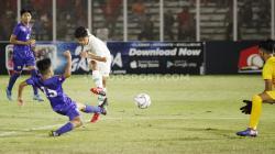 Laga pertandingan antara Filipina U-16 vs Indonesia U-16 di Stadion Madya GBK Senayan, Senin (16/09/19).