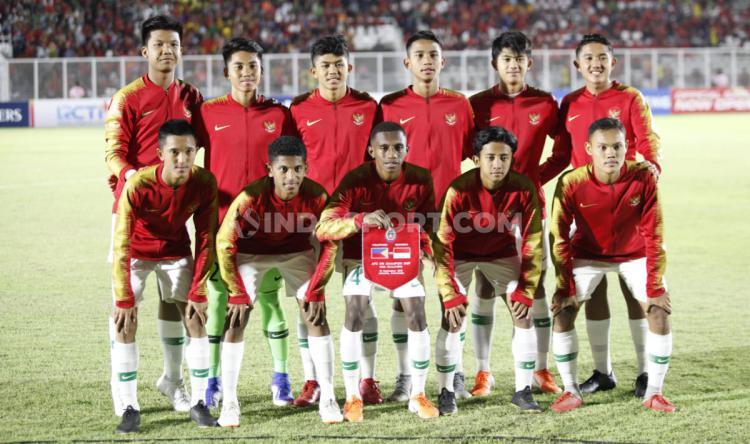 Skuat Timnas Indonesia U-16. Copyright: Herry Ibrahim/INDOSPORT