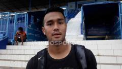 Indosport - Pemain Muda Arema FC, Muhammad Rafli.