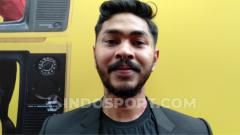 Indosport - Onadio Leonardo, penyanyi sekaligus aktor film Indonesia.