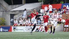 Indosport - Peri Sandria, legenda sepak bola Indonesia.